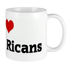 I Love Puerto Ricans Mug