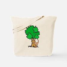 Kangaroo Tree Hugger Tote Bag