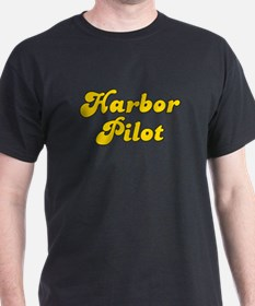 Retro Harbor Pilot (Gold) T-Shirt