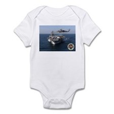 USS John F. Kennedy CV-67 Infant Bodysuit