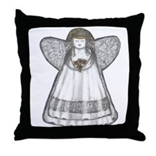 Angel Throw Pillow