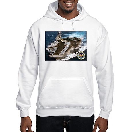 USS John F. Kennedy CV-67 Hooded Sweatshirt