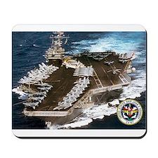 USS John F. Kennedy CV-67 Mousepad