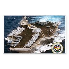 USS John F. Kennedy CV-67 Rectangle Decal
