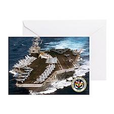 USS John F. Kennedy CV-67 Greeting Cards (Pk of 20