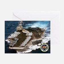 USS John F. Kennedy CV-67 Greeting Cards (Pk of 20