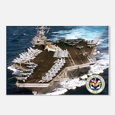 USS John F. Kennedy CV-67 Postcards (Package of 8)