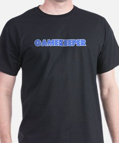 Retro Gamekeeper (Blue) T-Shirt