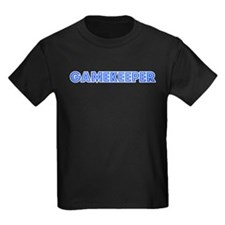 Retro Gamekeeper (Blue) T