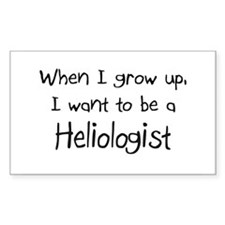 When I grow up I want to be a Heliologist Decal