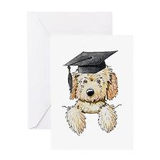 Graduation Pkt. Doodle Greeting Card