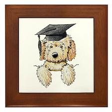 Graduation Pkt. Doodle Framed Tile