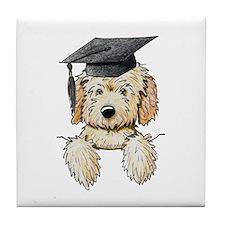 Graduation Pkt. Doodle Tile Coaster
