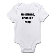 Amuzin me Infant Bodysuit