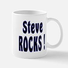 Steve Rocks ! Mug