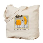 Not just a tote bag, but a BENT OBJECTS totebag.