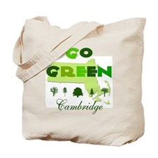 Go Green Cambridge Reusable Tote Bag