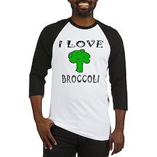 I Love Broccoli Baseball Jersey
