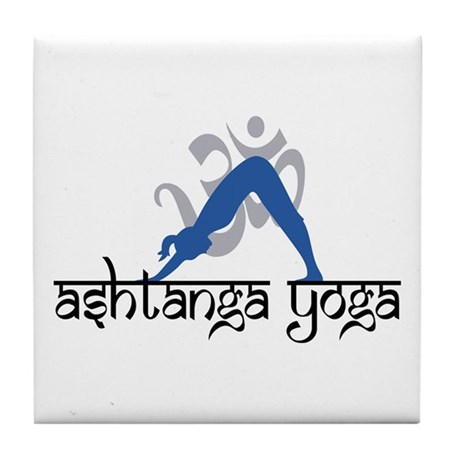 Ashtanga Yoga Tile Coaster
