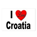 I Love Croatia Postcards (Package of 8)