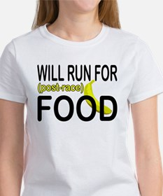 Will Run For Food Tee
