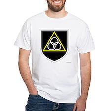 Stephen North's White T-Shirt