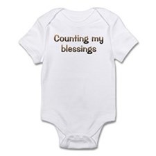 CW Counting Blessings Infant Bodysuit