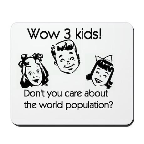 World Population Mousepad