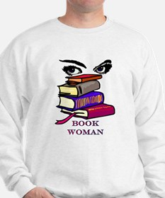 Book Woman Sweatshirt