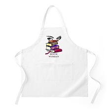 Book Woman BBQ Apron