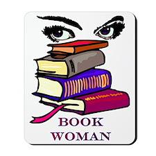 Book Woman Mousepad