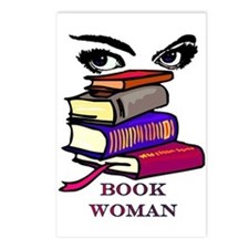Book Woman Postcards (Package of 8)