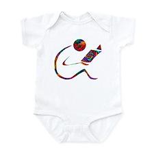 The Reader - One Side Infant Bodysuit