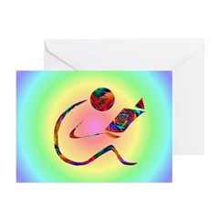 Reader Bibliophile Cards Greeting Cards (Pk of 10)