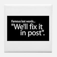 Fix it in Post Tile Coaster