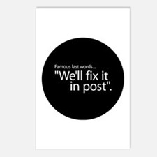 Fix it in Post Postcards (Package of 8)