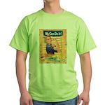 Rosie the Riveter Green T-Shirt