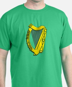 Celtic, Gaelic, Irish Harp T-Shirt