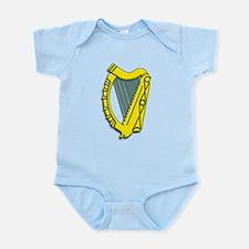 Celtic, Gaelic, Irish Harp Infant Bodysuit