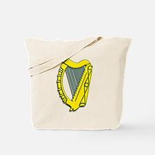Celtic, Gaelic, Irish Harp Tote Bag