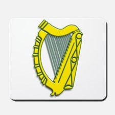 Celtic, Gaelic, Irish Harp Mousepad