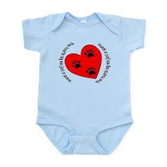 Alterable for cat/Small dog Infant Bodysuit