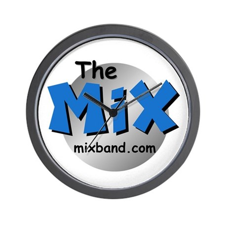 The Mix Wall Clock