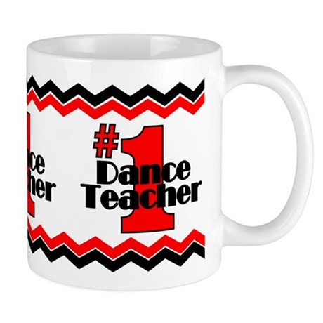 #1 Dance Teacher Mug