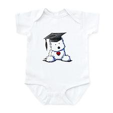 Westie Graduate Infant Bodysuit