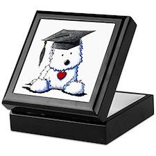 Westie Graduate Keepsake Box