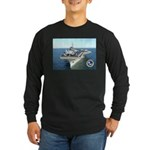 USS Constellation CV-64 Long Sleeve Dark T-Shirt