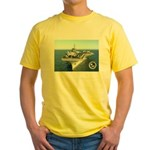 USS Constellation CV-64 Yellow T-Shirt