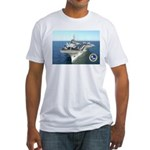 USS Constellation CV-64 Fitted T-Shirt