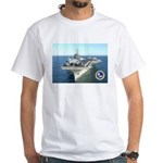 USS Constellation CV-64 White T-Shirt